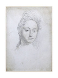 Portrait of Sarah Churchill, Duchess of Marlborough (1660-1744) Giclee Print by Robert White