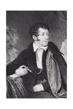 Thomas Campbell, Engraved by Joseph Jenkins (Bap.1812-1885) Giclee Print by D McClise