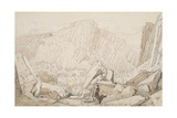 Domfront I, from the 'Normandy' Series Giclee Print by John Sell Cotman
