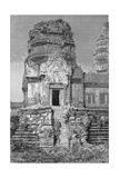 Lib324H Angkor Wat, View of the Second Floor, Book Illustration from 'A Journey of Exploration in… Giclee Print by Emile Theodore Therond