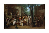 A Recruiting Party, 1822 Giclee Print by Edward Villiers Rippingille