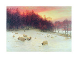 When the West with Evening Glows, Exh.1910 Gicléedruk van Joseph Farquharson
