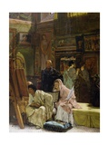 The Picture Gallery, 1874 Giclee Print by Sir Lawrence Alma-Tadema