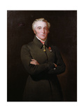 Portrait of Arthur Wellesley, 1st Duke of Wellington (1769-1852) Wearing the Order of the Golden… Giclee Print by Henry Perronet Briggs