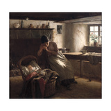 Day Dreams Giclee Print by Walter Langley