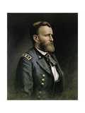 Portrait of Ulysses S. Grant, 1865 Giclee Print by  Thalstrup