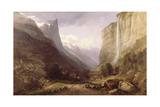 Swiss Scene Giclee Print by Samuel Jackson