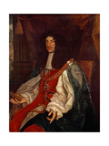 Portrait of Charles II (1630-85) C.1660-65 Giclee Print by John Michael Wright