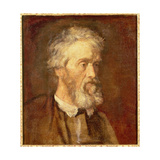 Portrait of Thomas Carlyle, 19th Century Giclee Print by George Frederic Watts
