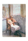 Girl by a Window Giclee Print by Roderic O'Conor