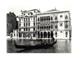 View of the Ca'Oro and Palazzo Giusti Giclee Print