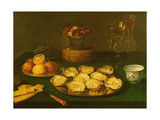 Still Life of Oysters and Fruit Giclee Print by Osias The Elder Beert