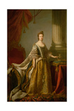 Queen Charlotte, C.1762-64 Giclee Print by Allan Ramsay