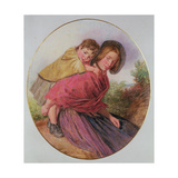 Mother and Child Giclee Print by William Henry Hunt