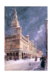Madison Square Garden, New York, 1895 Giclee Print by William Louis Junior Sonntag