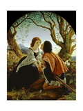 Hesperus, the Evening Star, Sacred to Lovers, 1855 Giclee Print by Sir Joseph Noel Paton