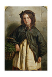 Watercress Girl, 1867 Giclee Print by Frederick Ifold