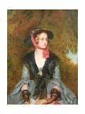 Rose Bradwardine, Heroine of 'Waverley' by Walter Scott (1771-1832) 1854 Giclee Print by John Bostock