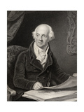 Sir Abraham Hume, 2nd Baronet, Engraved by J.Jenkins, from 'National Portrait Gallery, Volume… Giclee Print by Henry Edridge