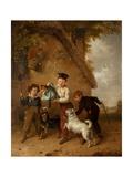 Mischief Giclee Print by Edmund Bristow