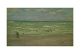 The Shore, Pourville, 19th Century Giclee Print by James Abbott McNeill Whistler