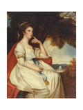 Isabella Curwen, 18th Century Giclee Print by George Romney