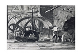 Forge Hammer, 1872 Giclee Print by Richard Samuel Chattock