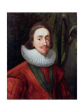 Portrait of Charles I (1600-49) C.1625 Giclee Print by Daniel Mytens