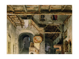 Set Design for 'La Forza Del Destino', C.1862 Giclee Print by Carlo Ferrario