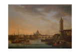 Blackfriars Bridge and the City from Lambeth Giclee Print by William Anderson