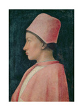 Portrait of Francesco Gonzaga as a Boy, 1461 Giclee Print by Andrea Mantegna