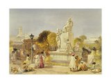 The Wellesley Monument, Bombay, 1863 Giclee Print by William 'Crimea' Simpson