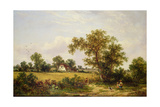 Essex Landscape Giclee Print by James Edwin Meadows