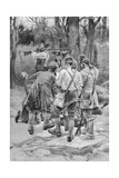 Finding the Body of One of their Companions, Scalped and Horribly Mangled, Engraved by F.H.… Giclee Print by Howard Pyle