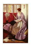 Waiting Giclee Print by Sir James Dromgole Linton