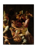 Jesus Chasing the Merchants Out of the Temple Giclee Print by Alessandro di Vincenzio Fei
