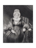 Hannah More Giclee Print by Henry William Pickersgill
