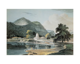 Ramghur in the Boujipoor District Giclee Print by Capt. Frederick Parr