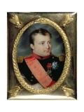 Portrait Miniature of Napoleon Bonaparte, 1815 Giclee Print by J. Parent