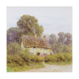 A Country Cottage Giclee Print by Helen Allingham