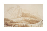 The Mountain of the Roule, Cherbourg Giclee Print by John Sell Cotman