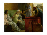The Wine Shop, 1869-74 Giclee Print by Sir Lawrence Alma-Tadema