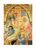 Santa Trinita Altarpiece, Detail of the Dead Christ Being Lowered from the Cross, C.1434 Giclee Print by Fra Angelico
