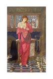 Isabella and the Pot of Basil Giclee Print by John Melhuish Strudwick