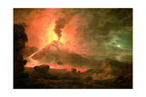 The Eruption of Vesuvius Giclee Print by Abraham Pether