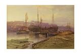Bristol Docks, 1896 Giclee Print by Arthur Wilde Parsons