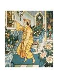 'Aladdin's Lamp', Arabian Nights, 1878 Giclee Print by Walter Crane