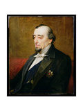 Portrait of Benjamin Disraeli, 1st Earl of Beaconsfield (1804-81) 1880 Giclee Print by Henry Jr. Weigall