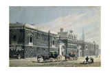 West View of Newgate, C.1810 Giclee Print by George Shepherd