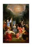 The Pentecost Giclee Print by Louis Galloche